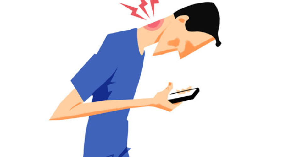 Image result for texting and neck pain